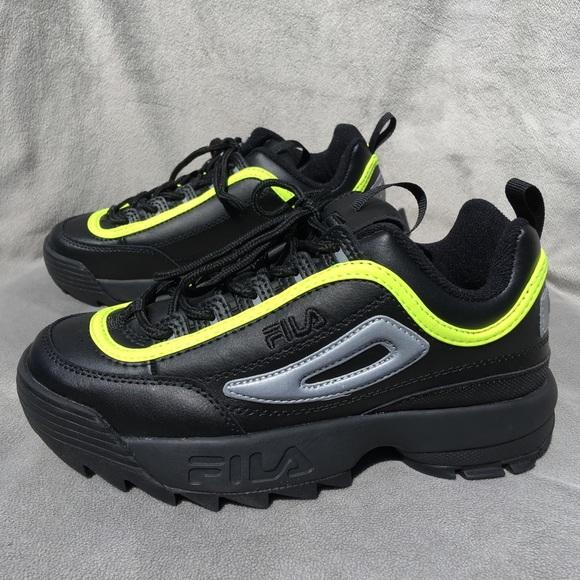 Fila Shoes   Fila Disruptor Ii Black